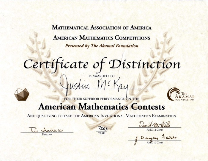 Math Scholar - AMC